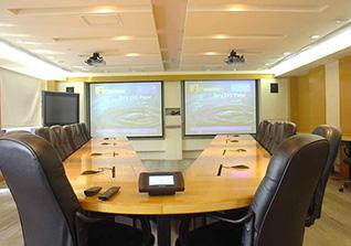 豪华型视频会议系统会议室方案