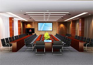 中型专业视讯会议室方案